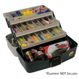 Buy Plano 530006 Three-Tray Fixed Compartment Tackle Box - Outdoor