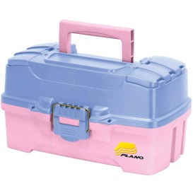 Buy Plano 620292 Two-Tray Tackle Box w/Duel Top Access - Periwinkle/Pink -