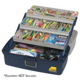 Buy Plano 613306 Three-Tray Fixed Compartment Tackle Box - XL - Outdoor