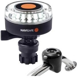 Buy Navisafe 040KIT Navilight 360-deg 2NM White w/Navimount Base & Rail