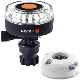 Buy Navisafe 040KIT5 Navilight 360-deg 2NM White w/Navimount Base &