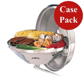 Marine Kettle Charcoal Grill w/Hinged Lid -Case of 3*