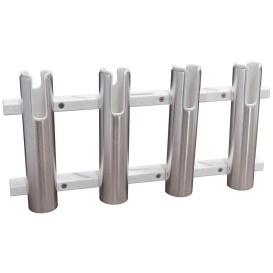 Buy TACO Marine F31-3104BXZ-1 Aluminum/Poly 4-Rod Rack Holder - Hunting &