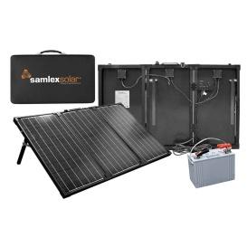 Buy Samlex America MSK-135 Portable Solar Charging Kit - 135W - Outdoor