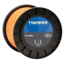 Buy Tigress 80002 High-Visibility 100lb Kite Braid - Orange - Hunting &
