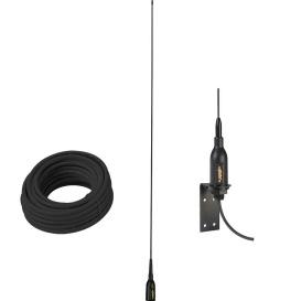 "Buy Glomex Marine Antennas SGA100SBBK AIS Antenna w/Supplied ""L"" Bracket &"