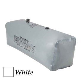 Buy FATSAC W713-WHITE V-drive Wakesurf Fat Sac Ballast Bag - 400lbs -