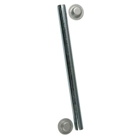 "Buy C.E. Smith 10701A Package Roller Shaft 1/2"" x 6-1/4"" w/Cap Nuts - Zinc"