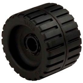 "Buy C.E. Smith 29530 Ribbed Wobble Roller 4-3/8"" - 3/4""ID w/Bushing Black"