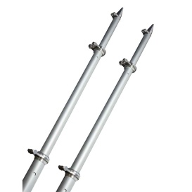 Buy TACO Marine OT-0318HD-VEL 18' Deluxe Outrigger Poles w/Rollers -