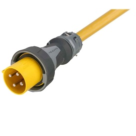 Buy Marinco CW1004 100 Amp, 125/250V One-Ended Male Power Supply Cable -