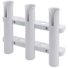 Buy Sea-Dog 325038-1 Three Pole Rod Storage Rack - White - Hunting &