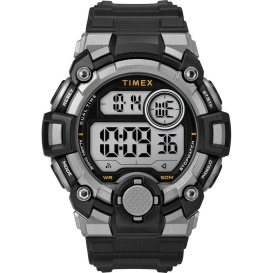 Buy Timex TW5M27700JV Men's A-Game DGTL 50mm Watch - Black/Grey - Outdoor