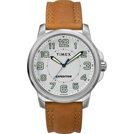 Buy Timex TW4B16400JV Men's Expedition Metal Field Watch - White