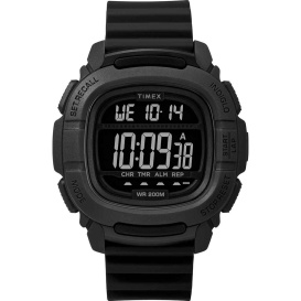 Buy Timex TW5M26100JV DGTL BST.47 Boost Shock Watch - Black - Outdoor