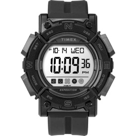 Buy Timex TW4B18100JV Expedition Digital Face 47mm - White Screen w/Black