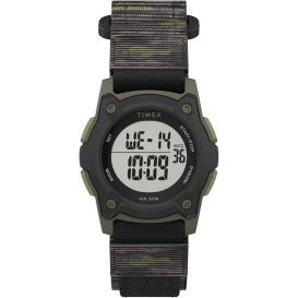Buy Timex TW7C77500XY Kid's Digital 35mm Watch - Green Camo w/Fastwrap