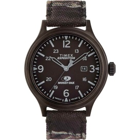 Buy Timex TW2U21100SO x Mossy Oak Standard - XL 43mm Case - Dark