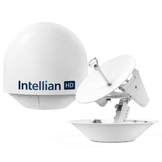Buy Intellian T3-87ATB s80HD Ka/Ku Antenna for HDTV w/Worldview Trio LNB -