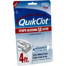 "QuickClot Gauze 3"" x 4'"