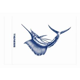 """Buy Tigress 88420 Sailfish Release Flag - 12"""" x 18"""" - Hunting & Fishing"""