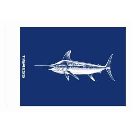 "Buy Tigress 88422 Blue Marlin Release Flag - 12"" x 18"" - Hunting & Fishing"