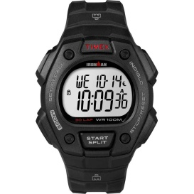 Buy Timex T5K822 IRONMAN Classic 30 Lap Full-Size Watch - Black/Red -