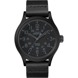 Buy Timex TW4B14200 Expedition Scout 40mm - Black - Fabric Strap Watch -