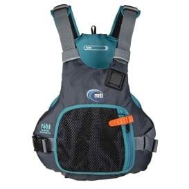 Buy MTI Life Jackets MV706F-L/XL-845 Vibe Life Jacket - Black/Turquoise -