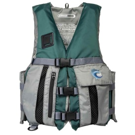 Buy MTI Life Jackets MV709G-XS/S-234 Striker Fishing Life Jacket - Hunter