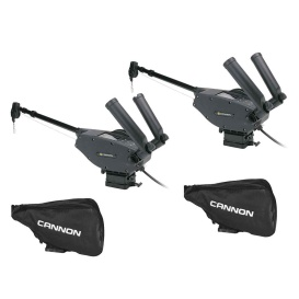 Optimum  10 BT Electric Downrigger 2-Pack w/Black Covers