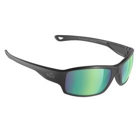 Buy H2Optix H2035 Beachwalker Sunglasses Matt Black, Brown Green Flash