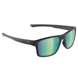 Buy H2Optix H2029 Coronado Sunglasses Matt Black, Brown Green Flash Mirror