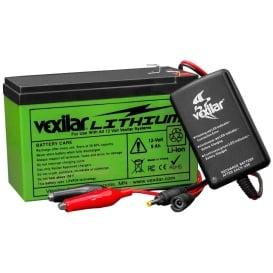 Buy Vexilar V-120L 12V Lithium Ion Battery & Charger - Portable Power