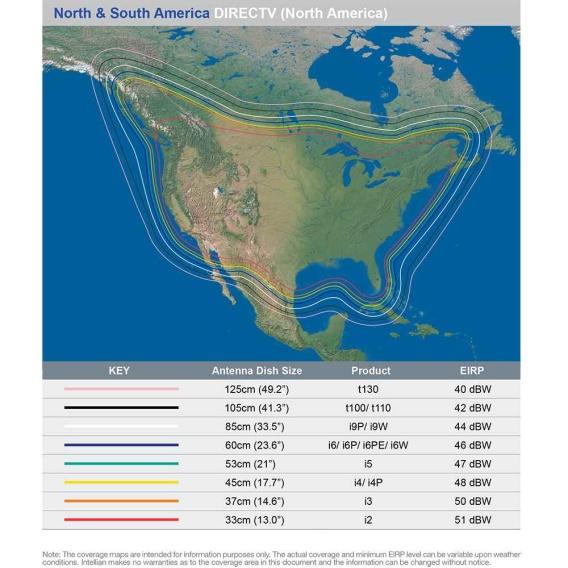 "Buy Intellian B4-509AA i5 US System - 20.8"" Dish w/All-Americas LNB -"