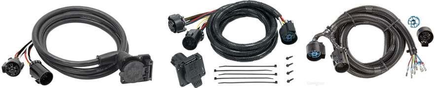 Fifth Wheel Electrical Cables