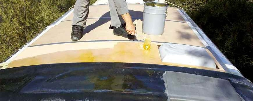 Repair Your EDPM Rubber Roof!