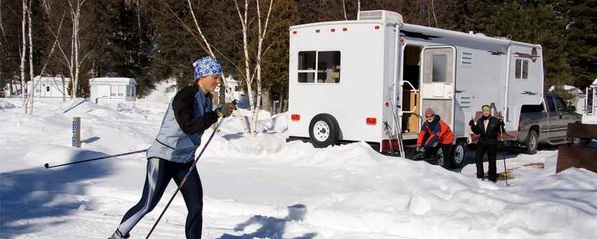 Don't Close Up Your RV for the Winter! Enjoy It!