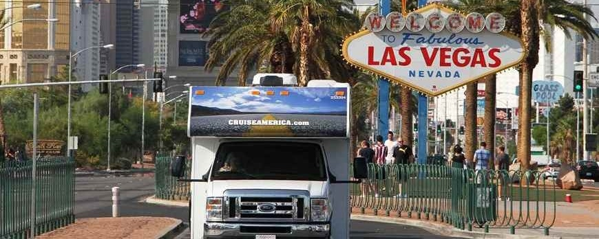 Las Vegas and the Grand Canyon with your RV